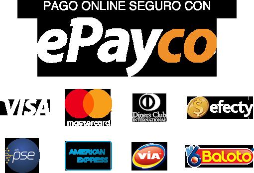 Pagos seguros con ePayco